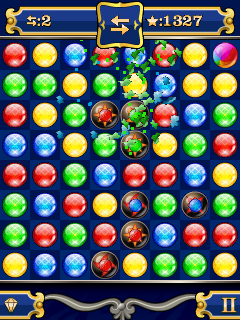 Mobile game Jewel bubbles 2 - screenshots. Gameplay Jewel bubbles 2