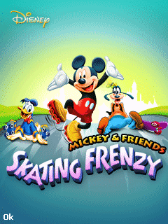 Download free mobile game: Mickey & friends: Skating frenzy - download free games for mobile phone