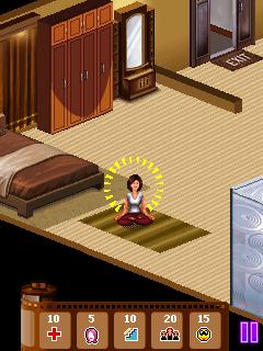 Java game screenshots Super actress. Gameplay Super actress