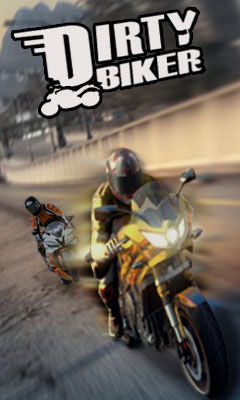 Download free mobile game: Dirty biker - download free games for mobile phone