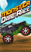 In addition to the  game for your phone, you can download Monster: Drag race for free.