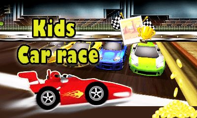 Download free mobile game: Kids car race - download free games for mobile phone