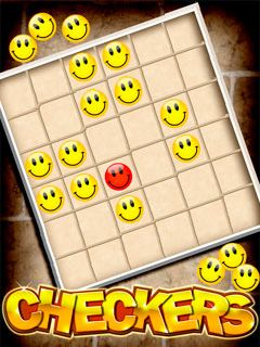 Download free mobile game: Checkers - download free games for mobile phone