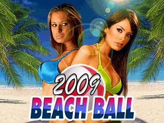 Download free mobile game: Beach ball 2009 - download free games for mobile phone