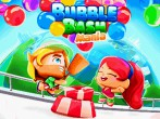 In addition to the  game for your phone, you can download Bubble bash: Mania for free.
