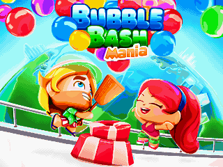 Download free mobile game: Bubble bash: Mania - download free games for mobile phone