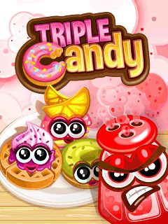 Download free mobile game: Triple candy - download free games for mobile phone