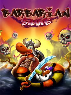 Download free mobile game: Barbarian snake - download free games for mobile phone
