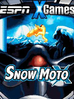 Download free mobile game: ESPN X Games: Snow moto X - download free games for mobile phone