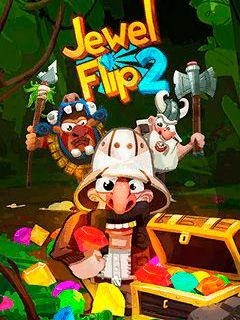 Download free mobile game: Jewel flip 2 - download free games for mobile phone