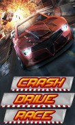 Download free Crash drive race - java game for mobile phone. Download Crash drive race