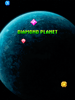 Download free mobile game: Diamond planet - download free games for mobile phone