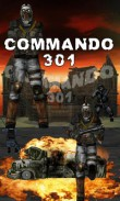 Download free mobile game: Commando 301 - download free games for mobile phone