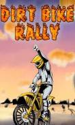 Download free mobile game: Dirt bike rally - download free games for mobile phone