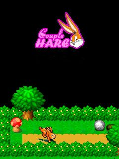 Download free mobile game: Couple hare - download free games for mobile phone
