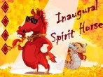 In addition to the  game for your phone, you can download Inaugural spirit horse for free.