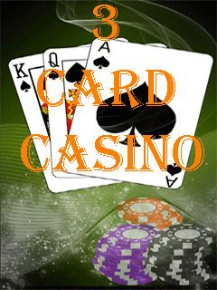 Download free mobile game: 3 card casino - download free games for mobile phone