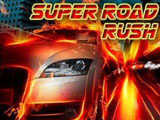 Download free mobile game: Super road rush - download free games for mobile phone