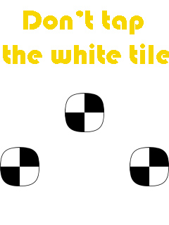 Download free mobile game: Don't tap the white tile - download free games for mobile phone