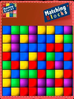 Download free mobile game: Matching blocks - download free games for mobile phone