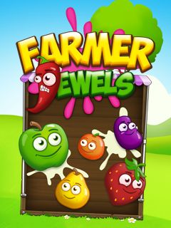 Download free mobile game: Farmer jewels - download free games for mobile phone