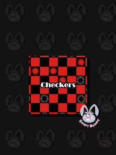 Download free mobile game: Checkers: Smart bunny - download free games for mobile phone