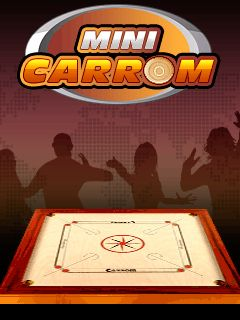 Download free mobile game: Mini carrom - download free games for mobile phone