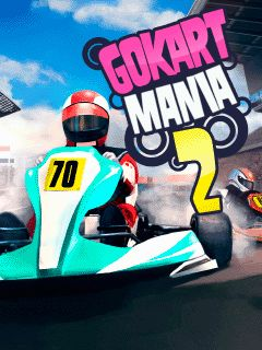 Download free mobile game: Go kart mania 2 - download free games for mobile phone