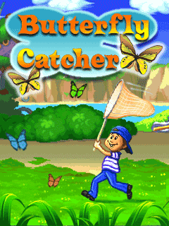 Download free mobile game: Butterfly catcher - download free games for mobile phone