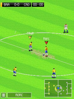Real Football 2015 Asha 306 Java Game