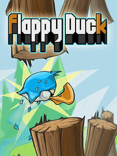 Download free mobile game: Flappy duck - download free games for mobile phone