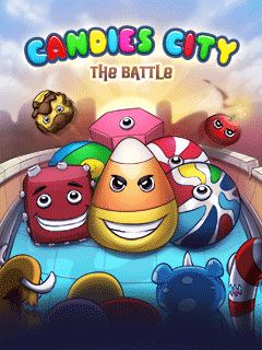 Download free mobile game: Candies city: The battle - download free games for mobile phone