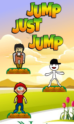 Download free mobile game: Jump just jump - download free games for mobile phone