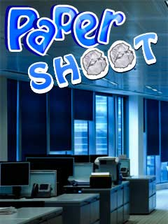 Download free mobile game: Paper shoot - download free games for mobile phone
