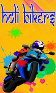 In addition to the  game for your phone, you can download Holi bikers for free.
