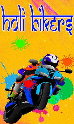Download free mobile game: Holi bikers - download free games for mobile phone