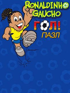 Download free mobile game: Ronaldinho Gaucho: Goal puzzle - download free games for mobile phone