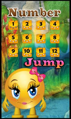 Download free mobile game: Number jump - download free games for mobile phone