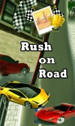 Download free Rush on road - java game for mobile phone. Download Rush on road