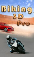 In addition to the free mobile game Biking 3D pro for Curve 3G 9300 download other BlackBerry Curve 3G 9300 games for free.