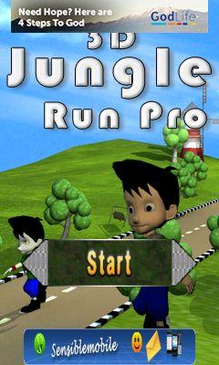 Mobile game 3D jungle run pro - screenshots. Gameplay 3D jungle run ...
