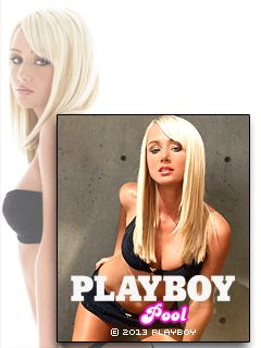 Download free mobile game: Playboy: Pool 2013 - download free games for mobile phone