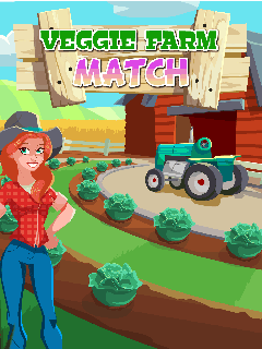 Download free mobile game: Veggie farm: Match - download free games for mobile phone