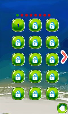 Java game screenshots Lines ball. Gameplay Lines ball