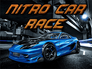 Download free mobile game: Nitro car race - download free games for mobile phone
