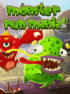 Download free mobile game: Monster run mania - download free games for mobile phone