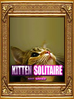 Download free mobile game: Kitten solitaire - download free games for mobile phone