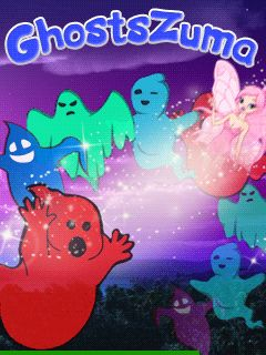 Download free mobile game: Ghosts zuma - download free games for mobile phone