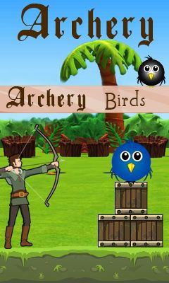 Download free mobile game: Archery birds - download free games for mobile phone