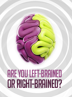 Download free mobile game: Are you left-brained or right-brained? - download free games for mobile phone